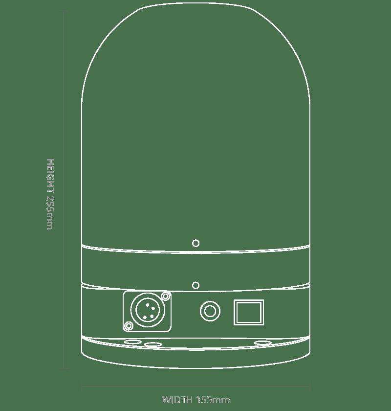 Agile Camera - outline back