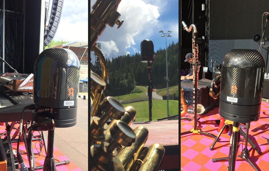 ARC360 PTZ cameras on tour with UniPix and Robbie Williams
