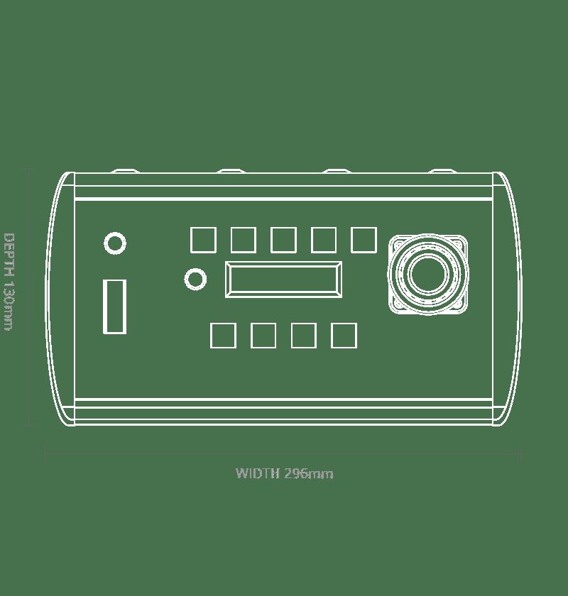 ARC4 Controller Dimensions