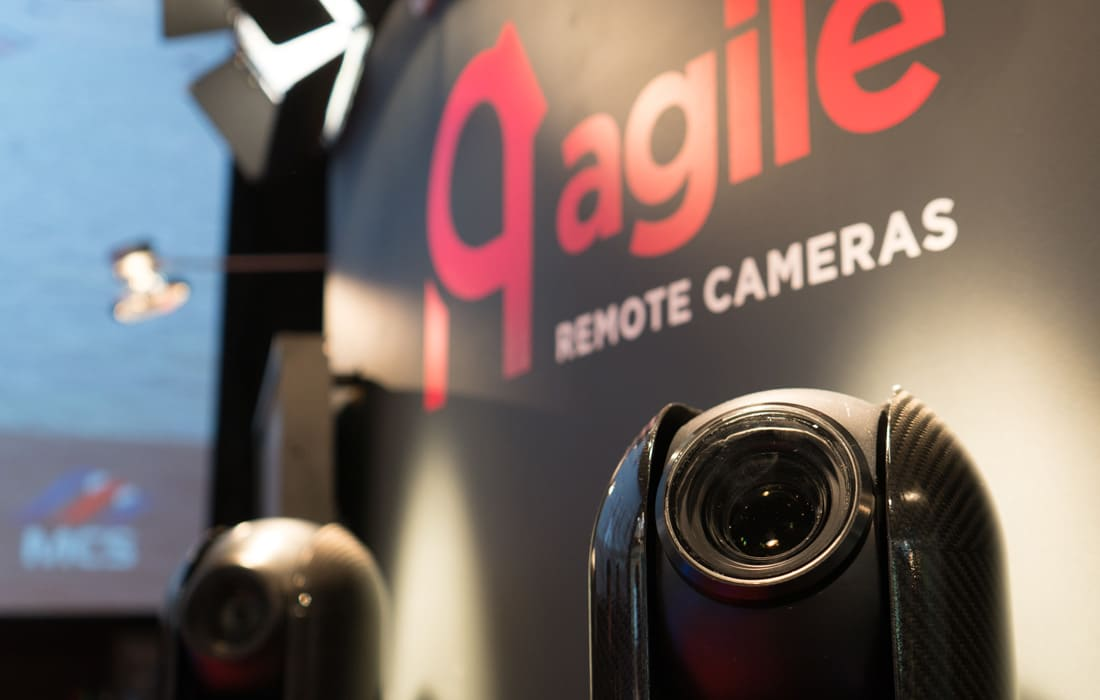 Agile Remote Cameras at an event
