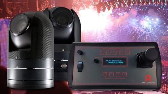 ARC PTZ cameras and controller