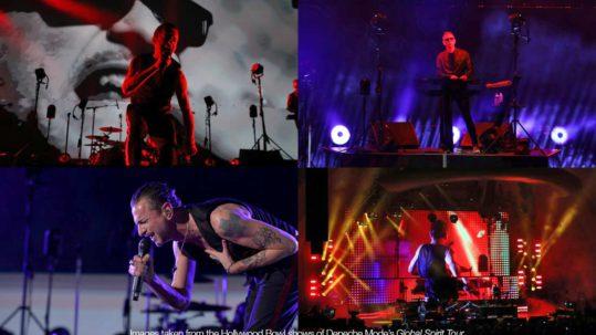 Depeche Mode uses ARC360 Lite cameras on tour