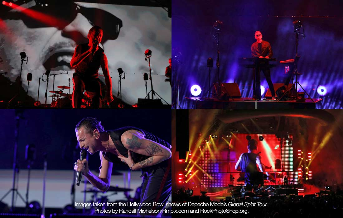 Depeche Mode uses ARC360 Lite cameras on tour