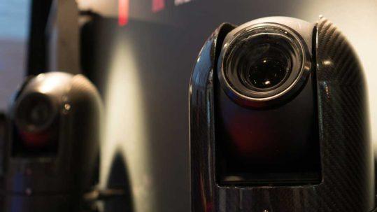 ARC cameras at a show