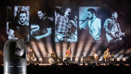 Snow Patrol tour features ARC360 Lite cameras